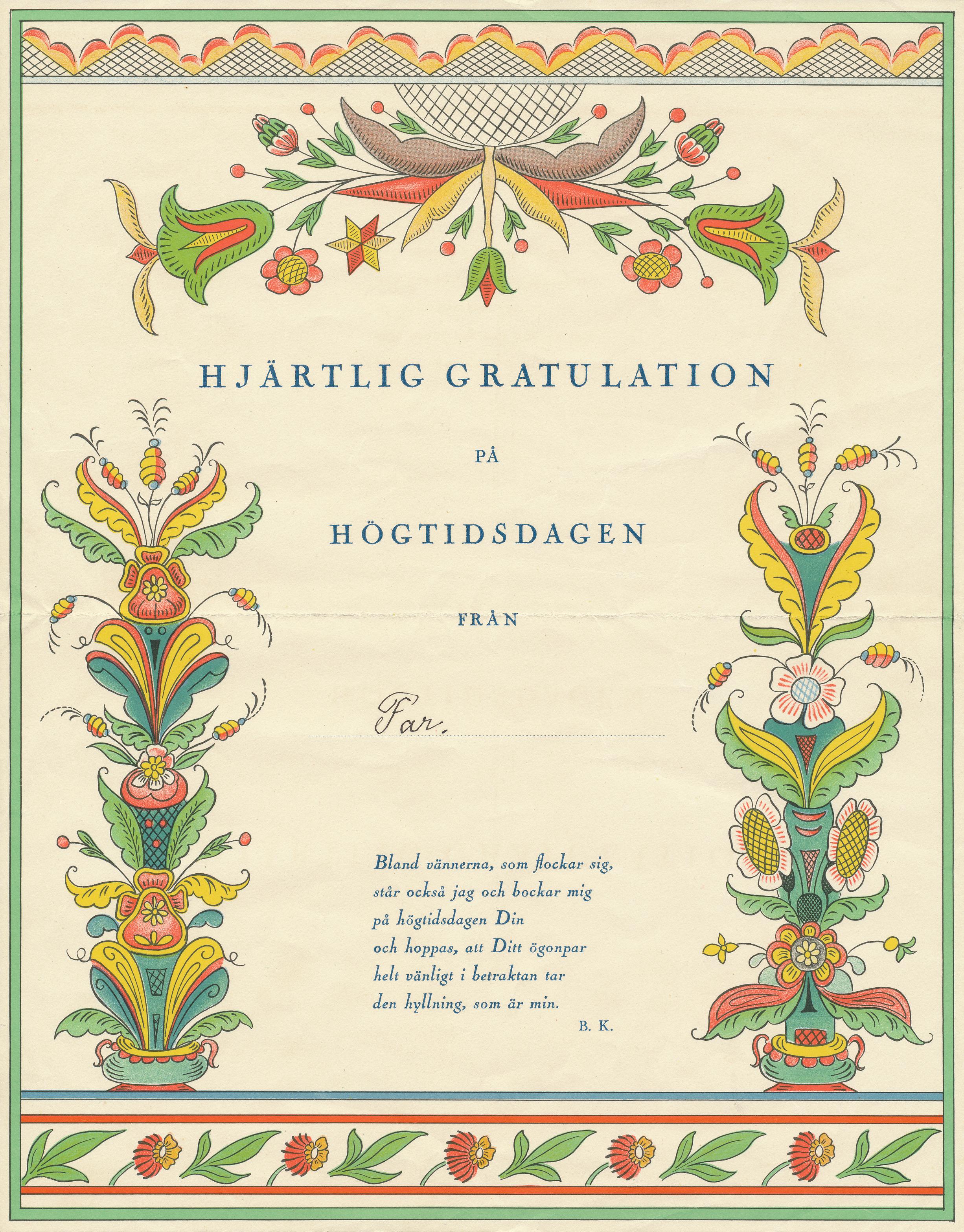 eva-norin-emil-spring-bröllopstelegram-från-far